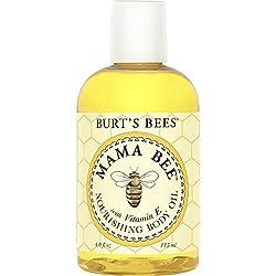 Burt's Bees Mama Bee 100% Natürlich feuchtigkeitsspendes Körperöl mit Vitamin E, 1er Pack x 115 ml