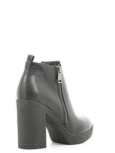 Cafè Noir CAF NOIR GB915 bottes noires femmes socket zip plateaux Nero