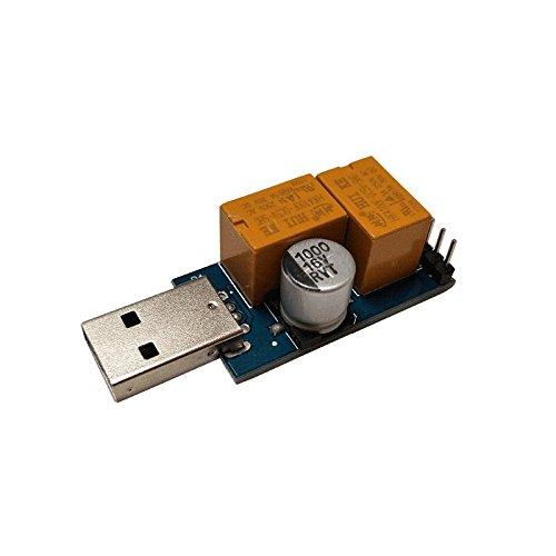 XU-XIAZHI,Karte USB/Computer/Unbeaufsichtigter automatischer Neustart des Blue Screen of Death/Mining/Service(Color:Kornblume,Size:OHNE AKKU) Service Riser