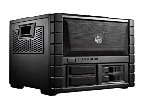 Cooler Master HAF XB EVO - High Air Flow Test Bench and LAN Box Mid Tower Computer Case with ATX Motherboard Support