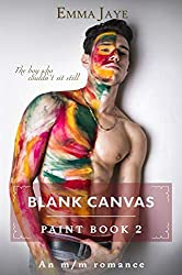 Blank Canvas: m/m romance (Paint Book 2)