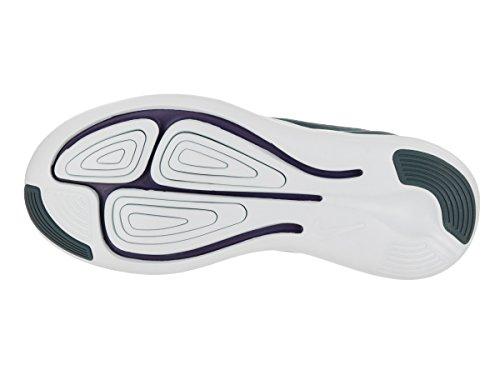 Nike Unisex-Erwachsene Wmns Flex Contact Fitnessschuhe, Schwarz Space Blue/Ink-cerulean-glacier Blue