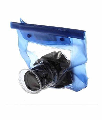 SHOPEE DSLR CAMERA UNIVERSAL WATERPROOF UNDERWATER HOUSING CASE POUCH DRY BAG FOR CANON NIKON SONY PENTAX  available at amazon for Rs.499