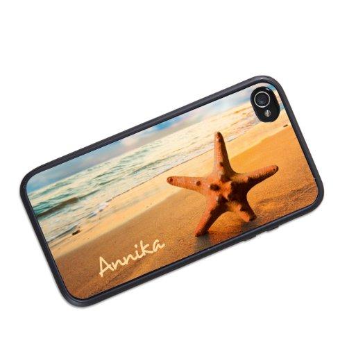 privatewear iPhone 4 (s) Hülle mit Strandmotiv Name: Annika