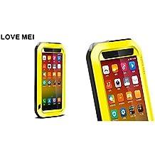Original carcasa de trois-résistants funda en aluminio Metal Funda protectora de protección impermeable antigolpes antipolvo Durable para Xiaomi MI4Smartphone, compatible con iPhone 6