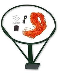 Cartasport Unisexe Bague de netball et filet de boule (non inclus), Orange