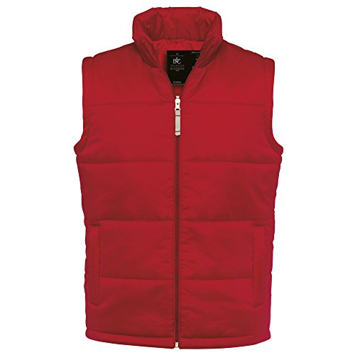 B&C Collection -  Gilet  - Uomo rosso  - rosso