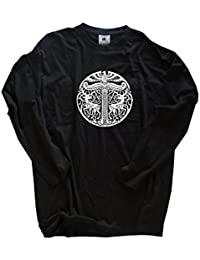Original Viking-Shirts T-Shirt | Irminsul Wikinger Germanen | 100 % Baumwolle | bequem & hoher Tragekomfort