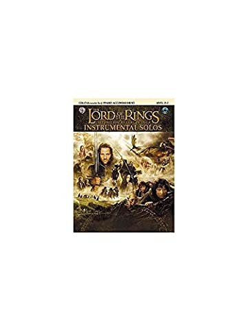 Lord Of The Rings: Instrumental Solos: Cello/Piano Accompaniment (Book And CD). Für Klavierbegleitung, Cello