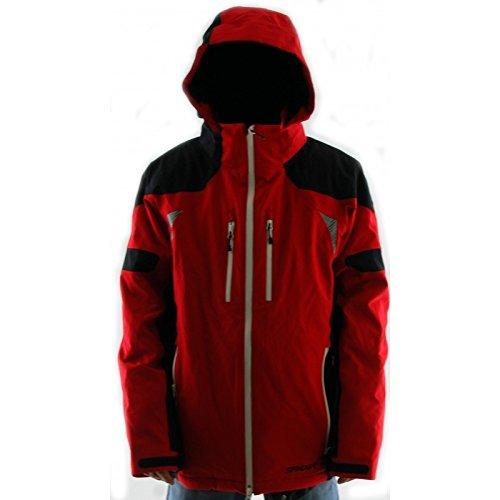 Spyder Veste Ski Homme Titan Rouge/Noir 10355