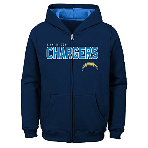 NFL Youth Boys 8-20 Stated Full Zip Hoodie