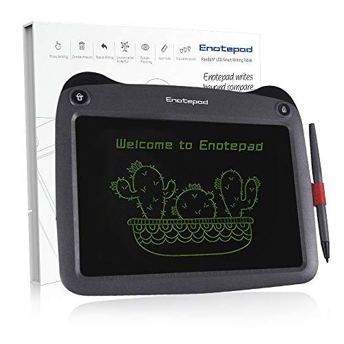 Enotepad 9'' Schreibtafel,Zeichnen und Malen Schreibtafel für Kinder,Spaß & Aufregend Geschenkidee-Perfektes Weihnachtsgeschenk für Kinder (schwarz)