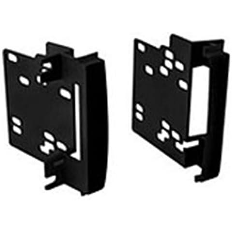 Autoleads DFP-02-04 - Soporte doble DIN para radio de coche para Chrysler/ Dodge/ Jeep, color negro