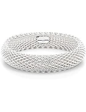 Nykkola Armband, einzigartiges Design, 925 Sterlingsilber, versilbert