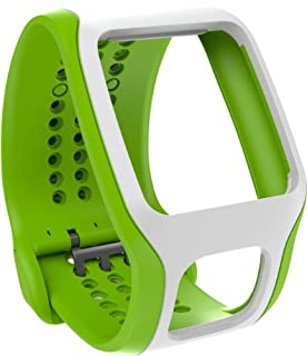 TomTom Bracelet confort pour Runner Cardio et Multi-Sport Cardio Vert clair/Blanc (9URA.001.04) (B00JGQS0C4) | Amazon price tracker / tracking, Amazon price history charts, Amazon price watches, Amazon price drop alerts