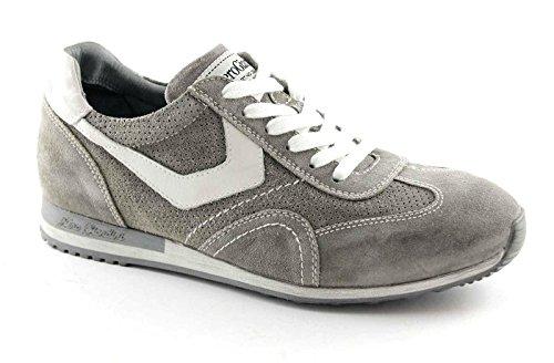Nero Giardini 4042 Sasso Scarpe Uomo Sneaker Sportive Camoscio Lacci Grigio Aclaramiento Comercializable Baúl Barato Amazon Aclaramiento TQ7Y7Qhr