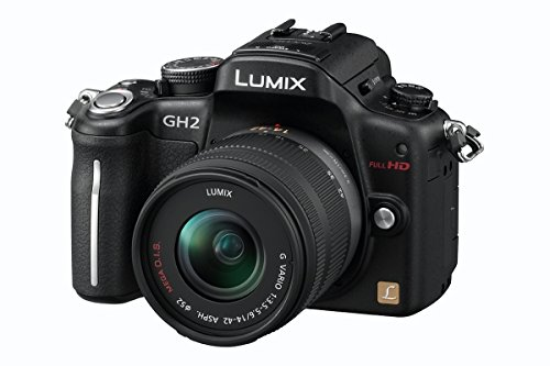 Panasonic Lumix DMC-GH2EG-K Systemkamera (16 Megapixel, 7,6 cm (3 Zoll) Display, bildstabilisiert) Gehäuse matt-schwarz Panasonic Digital Super Hybrid
