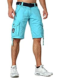 Geographical Norway Bermuda Shorts Padang in 5 Farben TOP Qualität Navy