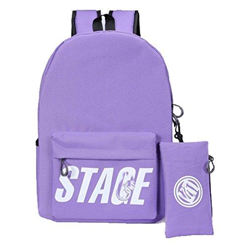 Ohmais Rücksack Rucksäcke Rucksack Backpack Daypack Schulranzen Schulrucksack Wanderrucksack Schultasche Rucksack für Schülerin Lina