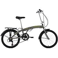 "KS Cycling Vélo Pliable Gris 20"""