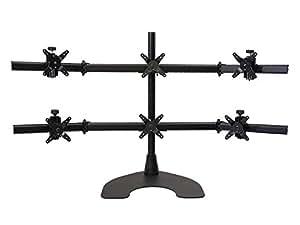 Ergotech Group 100-D28-B33 support d'écran plat pour bureau - supports d'écrans plats pour bureau (75 x 75 mm, 100 x 100 mm, 10 - 20°, Noir)