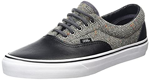Vans Unisex-Erwachsene Era Low-Top, Schwarz (Wool and Leather Excalibur/Black), 46 EU (Excalibur Leder)