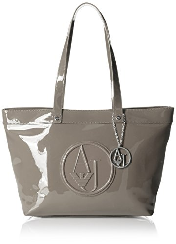 Armani Jeans Borsa Shopping Donna Pvc/Plastica Taupe