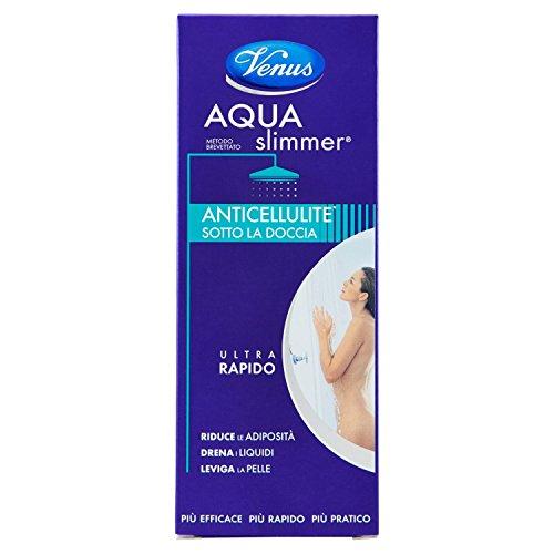 Kelemata Aqua Slimmer Anticellulite Sotto la Doccia Ultra Rapido, Verde - 200 ml