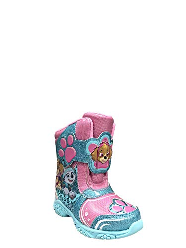 Girls Toddler Winter Snow Boots Paw Patrol Skye & Everest Design