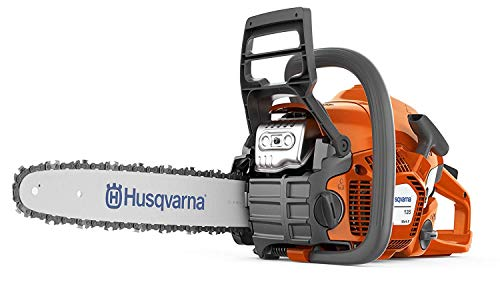Husqvarna 135 Petrol Chainsaw, Black/Orange