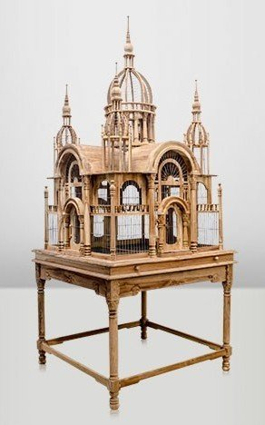 casa-padrino-baroque-palace-bird-hand-carved-from-mahogany-h250cm-aviary-bird-cage-antique-style