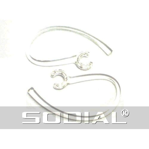 SODIAL(R) 2 New Clear High Quality Ear Hooks for Plantronics Discovery 975 925 Modus HM3500 HM3700 HM1000 HM1100 HM1700 Savor M1100 Marque M155 M100 MX100 Bluetooth Headset  available at amazon for Rs.729