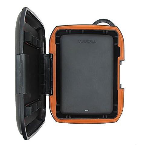 Résistantes à la pluie et à la poussière antichoc Nomad Rugged sac de rangement Case (Notebook Rigida)