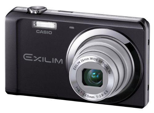 Casio Exilim EX-ZS5 Digitalkamera (14 Megapixel, 5-fach opt. Zoom, 6,9 cm (2,7 Zoll) Display) schwarz -
