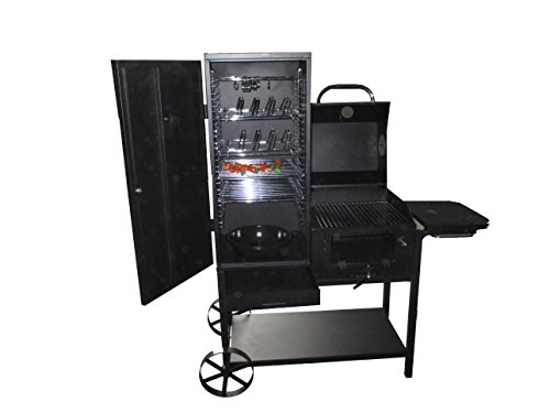 'Missouri' Professional BBQ Smoker Grill Cart Barbecue and Smoker New in Original Box Approx. 45�kg Model 2016