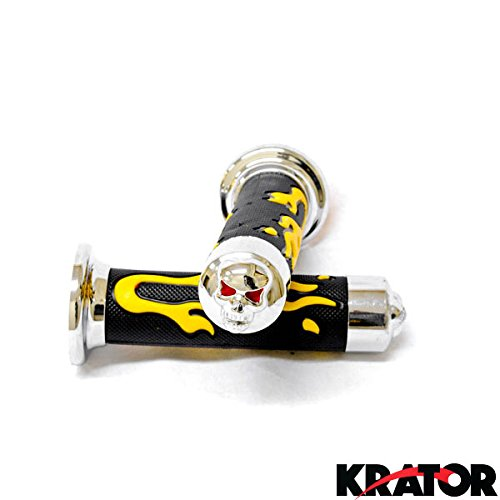 kratorr-sport-bike-and-dirt-bikes-motorcycle-flame-gel-style-hand-grips-with-skull-yellow-color-apri