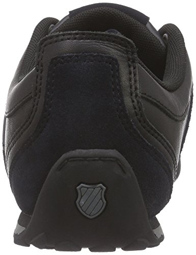 K-Swiss Arvee 1.5, Baskets Basses Homme Noir (black/black/charcoal 022)