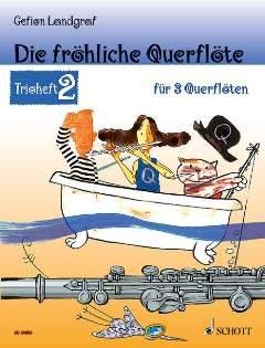 La froehliche querfloete-Trio grapadora 2-Arreglados