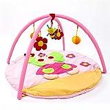 LULU Baby-Spieldecke|Musik Gym|Flanell|Musikalisches Spielzeug|Kriechende Matte|Puzzle|Multifunktionsmatte|Vollmondgeschenk