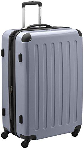 HAUPTSTADTKOFFER - Valigia Rigida Alex, TSA, Taglia 75 cm, 119 Litri, Colore  Argento