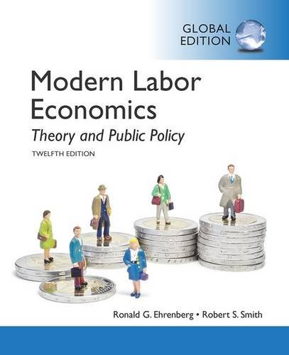 Modern Labor Economics: Theory and Public Policy