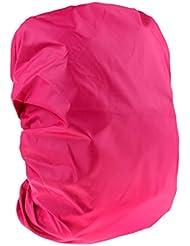Sharplace Cubierta Protectora de Mochila Bolsa Juego para Mochila Multiusos para Viajes Acampada - Rosado, 35L