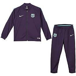 Nike FCB LK NK Dry SQD TRK Suit K - Chándal, Unisex Infantil, (Purple Dynasty/Hyper TURQ/Hyper TURQ)