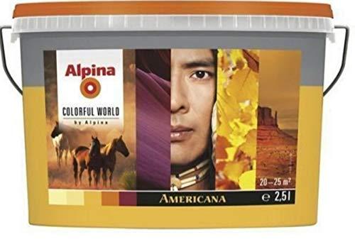 Alpina Colorful World, 2,5 Liter, matt, America- bright gelb