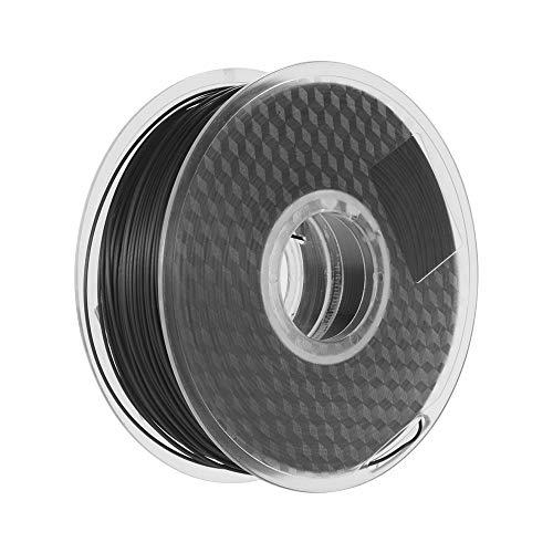 Rotolo di filamenti, filamento PLA in fibra di carbonio a filamento 3D da 1.75mm