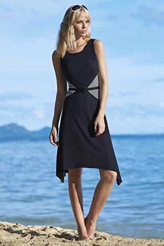 Sunflair City & Beach Kleid Strandkleid Banana Forest Schwarz