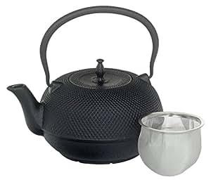 Victor Cast Iron Tea Kettle, Black