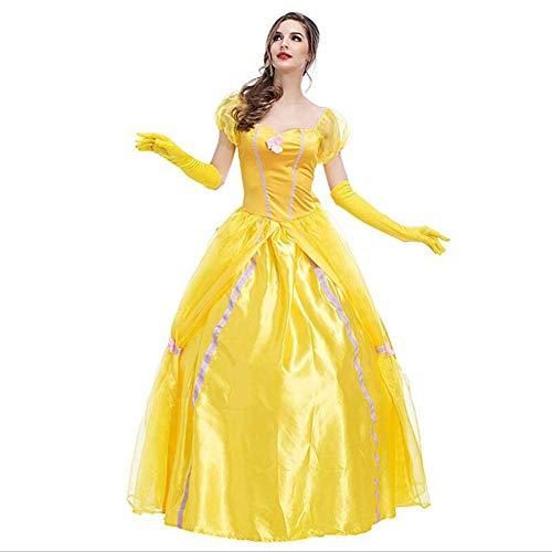 ASDF Halloween Prinzessin Kleid Fee Kostüm Bühnenkostüm Sänger - Lady Fee Kostüm