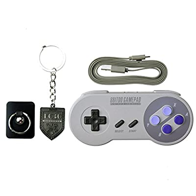 8Bitdo SNES30 GamePad Wireless Controller for Android/iOS/PC/Mac