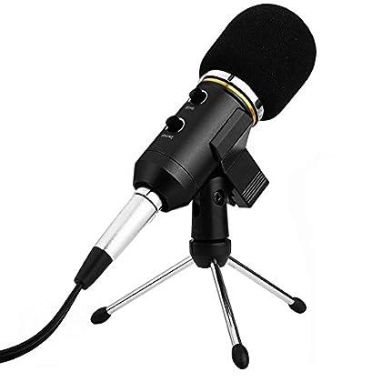 Micrófono Condensador USB para Grabar Micrófono...